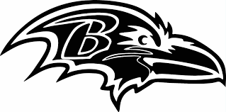 Baltimore Ravens Home Decor Baltimore Ravens Logo Vinyl Cut Out Decal Choose Your Color And