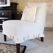 armless chair slipcovers how to slipcover an armless chair dwellinggawker
