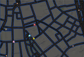 Street Map Of Boston by Playing Pac Man On A Map Of Boston Is Predictably Difficult