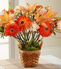 ftd bright day arrangement premium fall thanksgiving flowers