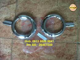 All New Pajero Sport List Kap Mobil Depan Molding Chrome ring garnish fogl all new pajero sport 2013 rp 255 000 rivo