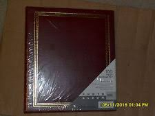 photo album magnetic pages cardboard self adhesive photo albums ebay