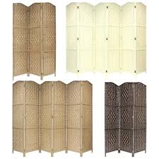 Folding Room Divider Room Dividers Wicker Screens Room Dividers Rustic Style Wood And