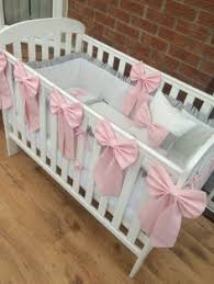 Nursery Cot Bedding Sets Furniture Cot Bedding Sets Baby Princess Luxury Pink 3 Baby