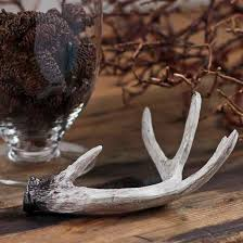 miniature artificial deer antler ornaments