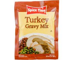 turkey gravy mix turkey gravy mix 24ct 0 875oz spice time lou s foods