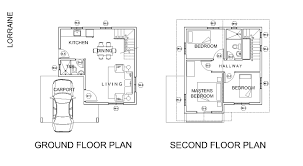 Country Homes Floor Plans by Lorraine House Model Solanaland Development Inc