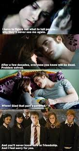 Funny Twilight Memes - 62 best harry potter vs twilight images on pinterest harry