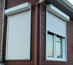 aluminum alloy material and shutters type thermal insulation