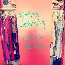 spring cleaning closet spring cleaning closet edition paperblog