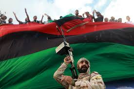 Lybian Flag War In Libya