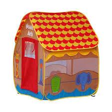 shop gigatent noah u0027s ark pop up kids play tent at lowes com