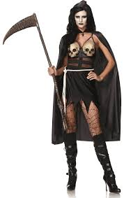 leg avenue death dealer costume jokers masquerade