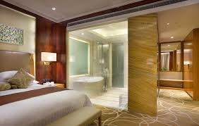lovely master bedroom design with a bathroom decoration is like