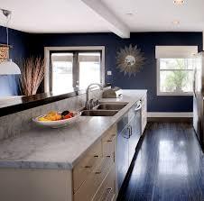 cuisine blanche et bleue cuisine bleu gris canard ou bleu marine code couleur et idées