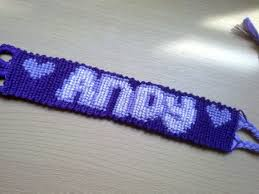 friendship bracelet with name images Name friendship bracelet custom macrame style no 1 kaliste jpg