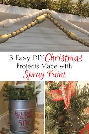 Creative Diy Christmas Decorations 3 Easy Diy Christmas Decor Projects Using Spray Paint Life On