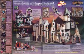 lego shop at home catalog fall 2001 harry potter star wars