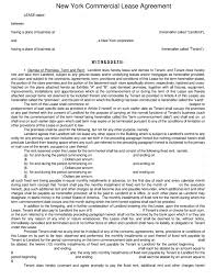 new york rental lease agreement templates legalforms org