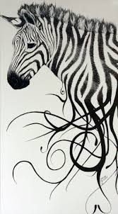 219 best exotic zebra art images on pinterest zebra art zebras this is an interesting ideas would turn the stripes running off the zebra into some word art to try and match up with the