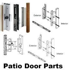 Patio Door Lock Parts Patio Door Handles And Locks Sliding Patio Door Parts Brilliant