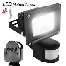 motion sensor flood light waterproof security safety led lights
