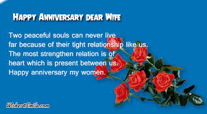 Wedding Quotes For Brother Happy Wedding Anniversary Wishes For Wife Wishes4smile