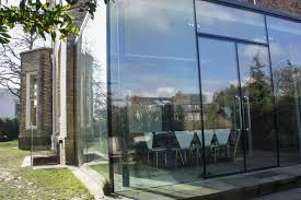 framless glass doors hale cheshire architectural glass clear living