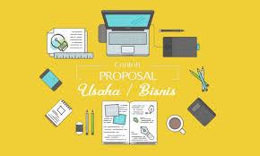 cara membuat proposal ide contoh proposal usaha kewirausahaan bisnis cara membuat proposal