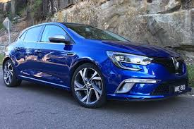 renault blue renault megane gt 2017 review carsguide