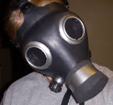 Halloween Gas Mask Costume Doctor Empty Child Gas Mask Mod Occasions Holidays