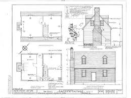 historic colonial house plans archer cottage yorktown virginia colonial williamsburg houses