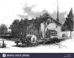 stock bureau 1800s 1860s 1866 post civil war exterior of the freedmen s bureau