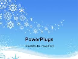 winter themed powerpoint template winter powerpoint template