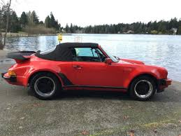 1986 porsche 911 turbo for sale 1986 porsche cabriolet convertible 911 wide turbo