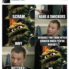 Oscar The Grouch Meme - eat a snickers lmao oscar grouch photograph by brandon fisher