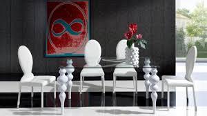 chaises design salle manger salle à manger moderne aux chaises design uniques design feria