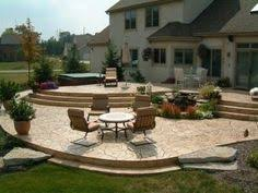 Multi Level Backyard Ideas Multi Level Outdoor Space Home Exterior Pinterest Outdoor
