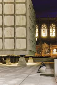beinecke rare book and manuscript library new haven architecture