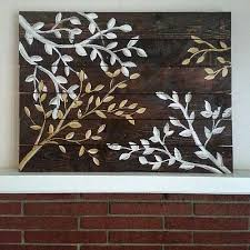 wood wall projects upscale tree branch reclaimed wood wall project by decoart