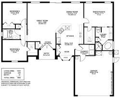 3 Bedroom 2 Bath Open Floor Plans Majestic Design Ideas Floor Plan 3 Bedroom 2 Bath 9 Premier Ranch