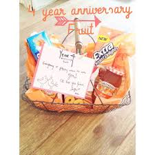 4 year wedding anniversary gift ideas for best 25 four year anniversary ideas on