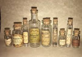 Halloween Small Apothecary Potion Bottles For Harry Potter