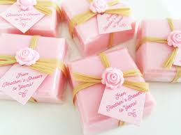 bridal shower soap favors pink favor soaps baby shower
