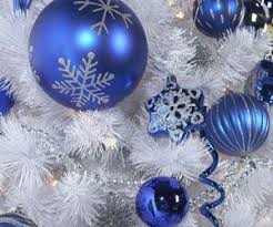 Blue Christmas Decorations Photos by 26 Best Christmas Home Decor Blue White Silver Images On