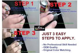 ezy touch up paint for toyota super white ii 040 combo set