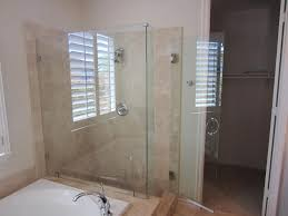 Frameless Shower Doors San Diego by Framed To Frameless La Jolla Patriot Glass And Mirror San