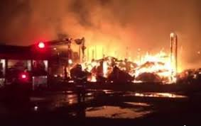 The Barn At Power Ranch Fire Destroys Barn Livestock In Brownsville Albany