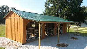 Sheds Horse Run Ins And Sheds Portable Horse Barn Manufacturer Hilltop