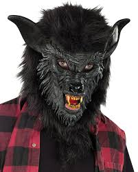 halloween woman mask a252 deluxe wolf man werewolf halloween mask scary costume